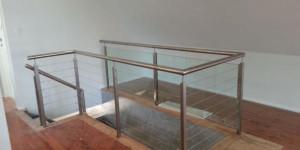 indoor steel balustrade